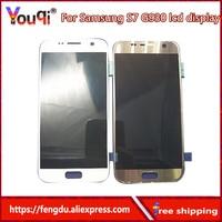 Youqi High Quality AMOLED LCD For Samsung GALAXY S7 G930 G930F G930A G930V G930P LCD Display