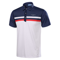 2017 brand mannen golf shirts korte mouw zomer sport stof t-shirt golf training apparel sneldrogende top kleding 3 kleuren