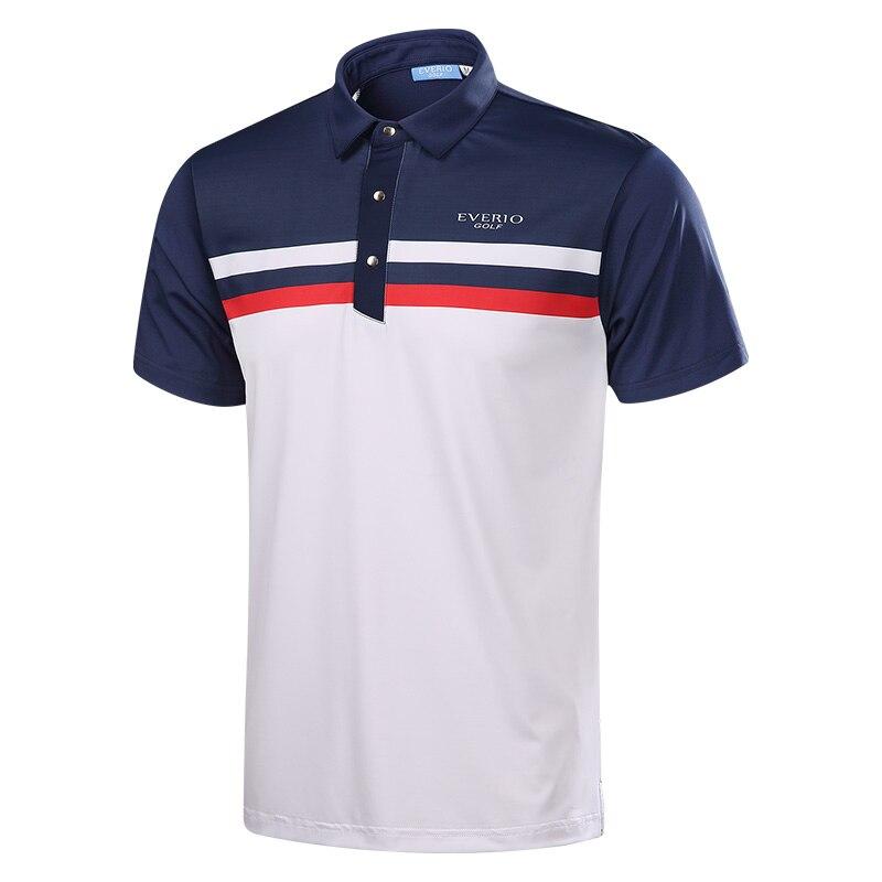 2017 Brand Men Golf Shirts Short Sleeve Summer Sports