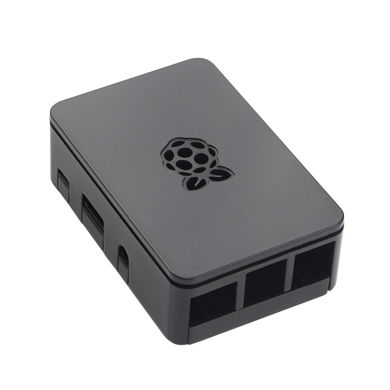 High Quality Raspberry Pi 3B+ ABS Case Black White Transparent Box Shell for Raspberry Pi 3 Model B/Raspberry Pi 2 high quality aluminum alloy case enclosure box for raspberry pi b red