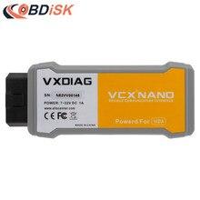 Выпуск VXDIAG VCX NANO диагностический инструмент для Volvo с многоязычной функцией smae как Vida Dice 2014D сканер