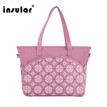 Diaper Bag Insular Baby Nappy Bag Waterproof Diaper Mother Shoulder Mummy High Quality Maternity Messenger Stroller Organizers