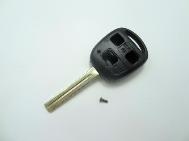 Replacement Remote Key Fob Shell Case 3 Button For Lexus Key TOY40 Long  Blade Car Key