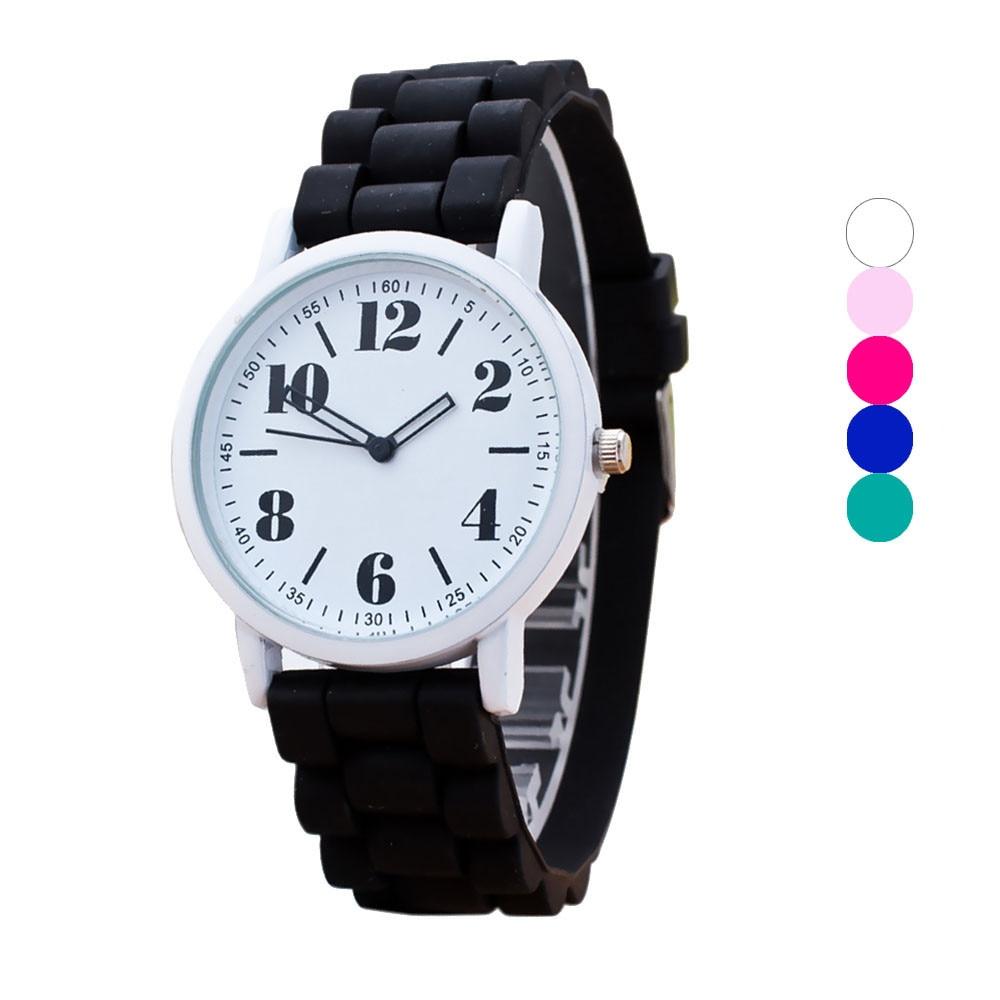 Women Watches Colorful Dial Silicone Sport Watches relojes para mujer montre femme zegarek damski bayan kol saati orologio час
