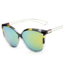 Fashion popular Retro Big Frame polarized sunglasses women  NEW Brand Design Circle sun glasses