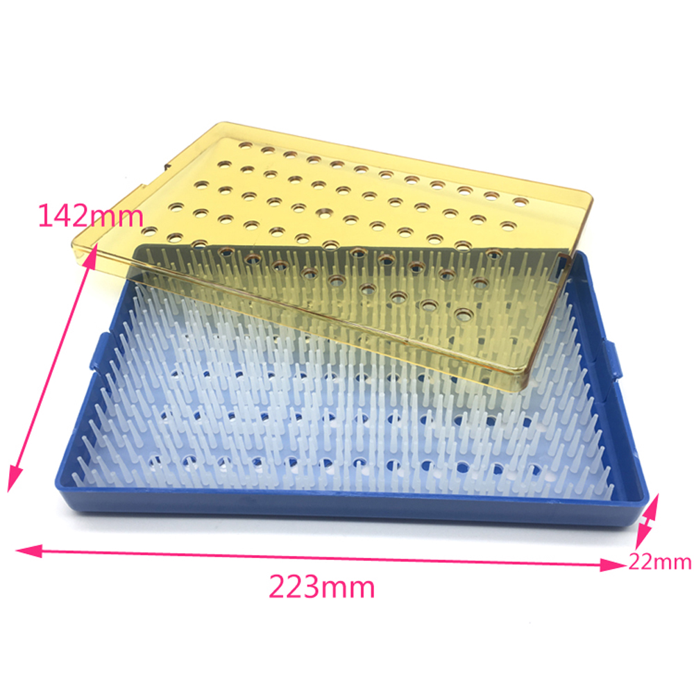 Beauty NEW Ophthalmic Microsurgical Instruments Surgical Autoclavable Surgery Silicone Disinfection box L/M/S Size Eyelid Tools