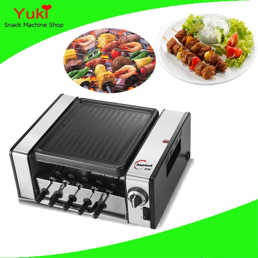 chicken rotary grill machine