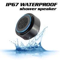 KOYOT Mini Waterproof IPX7 Bluetooth Speaker For IPhone 8 7 Samsung S8 Laptop Shower Speaker FM