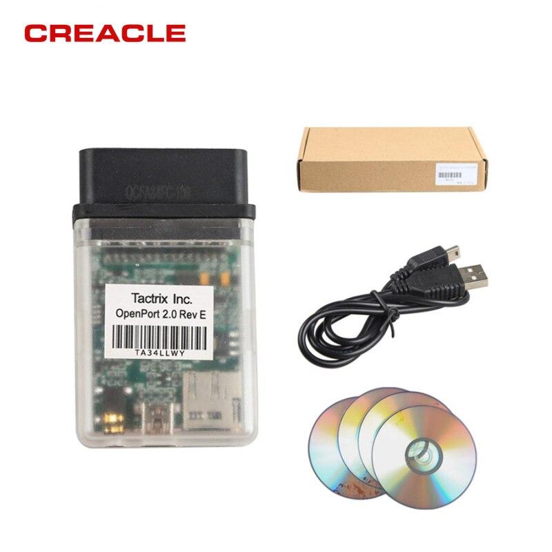 ECU-Tool Tactrix Openport 2.0+ECUFLASH Cable For Toyota, For Jaguar And For LandRover Diagnose ECU Programmer
