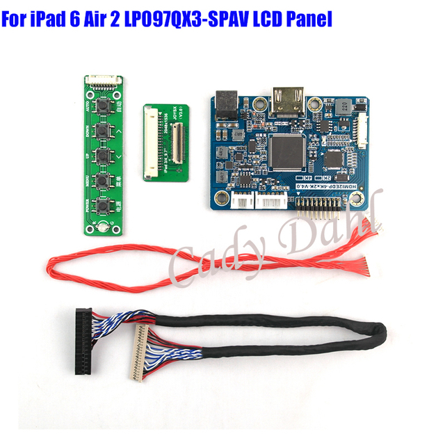 Hdmi lvds controller board for ipad 6 air 2 9 7 inches - 1536x2048 ipad ...