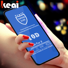 10D Premium Full Cover Tempered Glass On The For iPhone X Xs Plus HD Screen Protector XR XS Max Protective Film