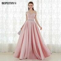 Vestido De Festa A Line Long Evening Dress Kadisua Vintage Off The Shoulder Prom Dresses Crystal