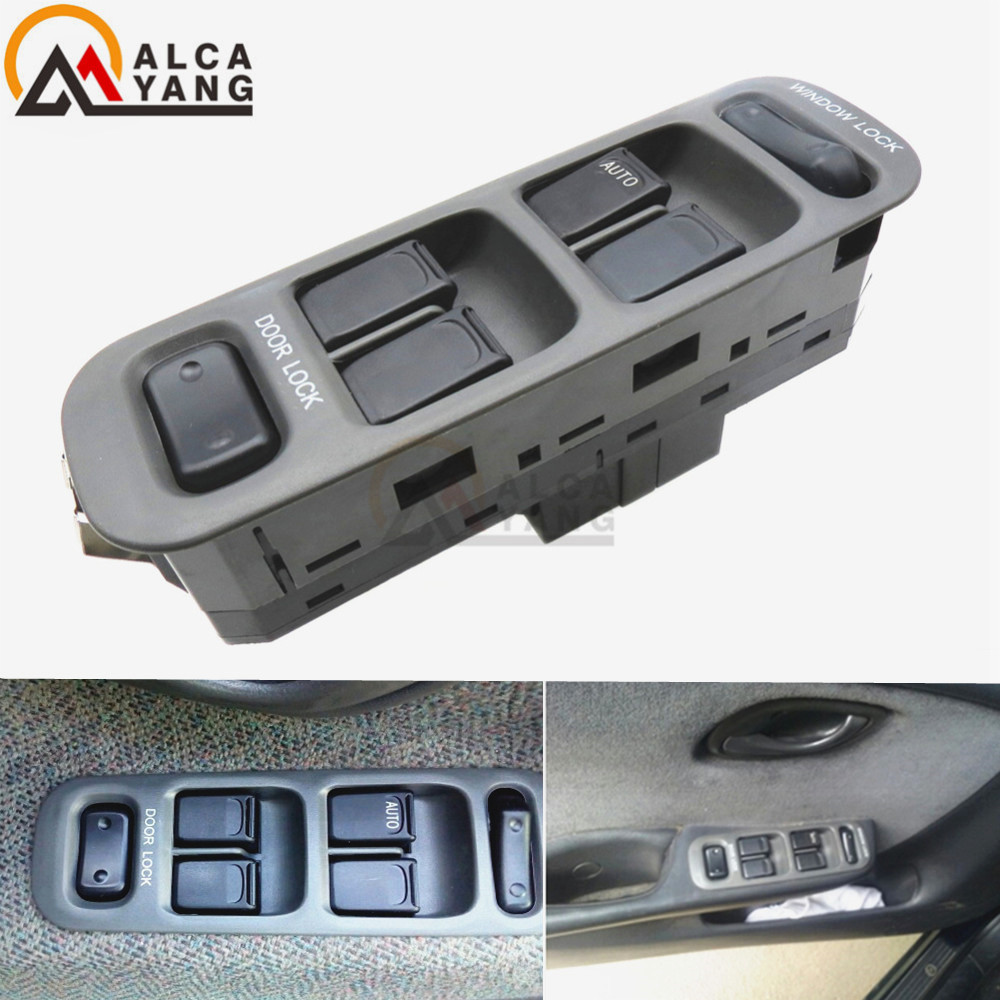 New Black Plastic 37990-65D10-T01 Untuk SUZUKI BALENO Casement Glass Kiri Depan Lift Switch Power High Quality Hot Sale