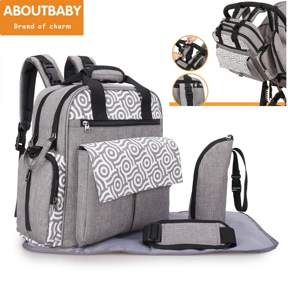 Nappy Bags for baby stroller Large Mummy Diaper Bag Backpack Baby Organizer Maternity Bags Mother Handbag Baby Nappy Backpack