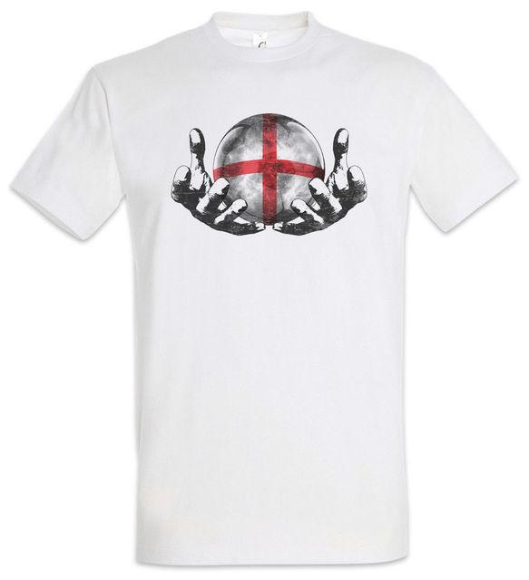 03ea84914 England Football Magic Ball T-Shirt English Soccer Flag Championship 2019  Men'S Fashion Cartoon Character Fitness Tee Shirts