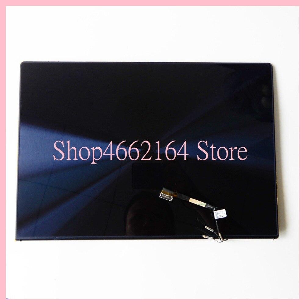 Image 5 - Для Asus zeenbook UX302 UX302LG UX302L UX302LA ЖК дисплей панель + сенсорный экран планшета Стекло сенсор сборки верхняя половина часть