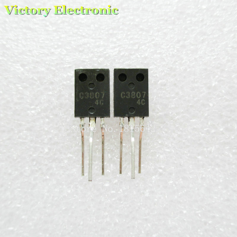 100%New In Stock C3807 2SC3807 c3807 Power Transistor TO-126 10PCS/Lot Wholesale Electronic ...