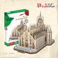 Cubicfun 3D бумажная модель здания DIY игрушка в подарок моделирование бумага картон сложности головоломки Италия Церковь Дуомо MC210h
