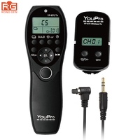 YP 870 N3 2 4g Wireless Remote Control Receiver 32 Channels Shutter Timer For Canon 7d