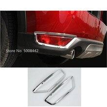 Для Mazda CX-5 автостайлинг кузова крышка отделка задний хвост задний противотуманный фонарь рамка отделка 2 шт