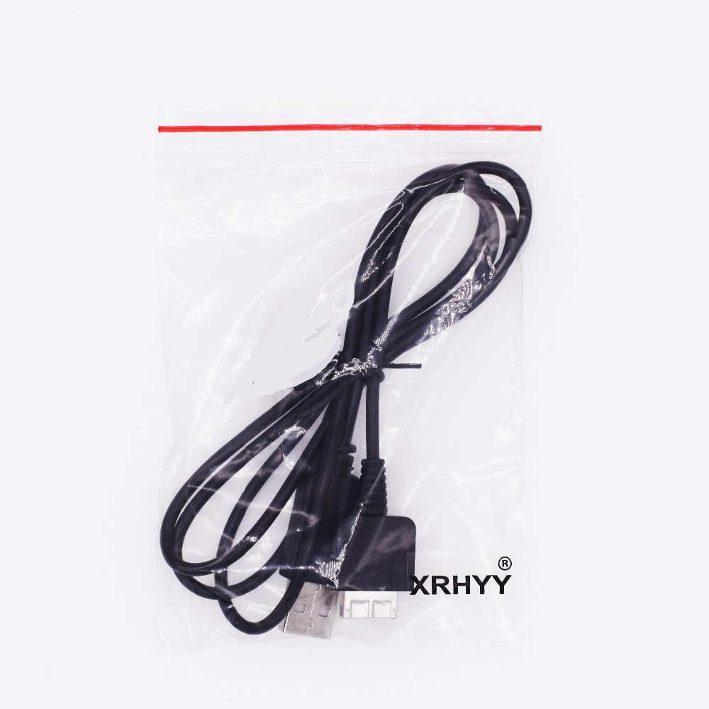 XRHYY 1.2 M 2 في 1 USB كابل بيانات الحبل نقل مزامنة شاحن للبلاي ستيشن PS فيتا