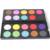 20 Colores de Sombra de Ojos Paleta de Doble Capa Mujeres de Ojos Maquillaje Cosméticos Mineral Shimmer Sombra de ojos del Pigmento Set