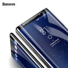 Baseus מסך מגן לסמסונג גלקסי הערה 8 Note8 3D קשת מזג זכוכית עבור גלקסי הערה 8 מלא מגן זכוכית סרט