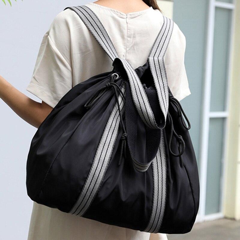 Femmes sac à bandoulière décontracté Nylon femme sac à dos sacs à provisions mode sacs à bandoulière dames fourre-tout Bolsas Hobos feminina