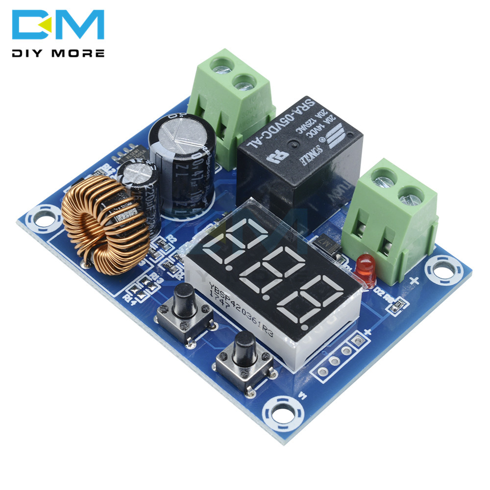 Image 5 - XH M609 DC 12V 36V Charger Module Voltage OverDischarge Battery Protection Precise Undervoltage Protection Module  Board-in Integrated Circuits from Electronic Components & Supplies