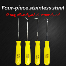 4Pcs/Set Durable Car Hook Oil Seal O-Ring Remover Pick Set Craft Hand Tools Tool Universal Gasket Puller