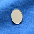 Solid 925 Sterling Silver Cabochon trays