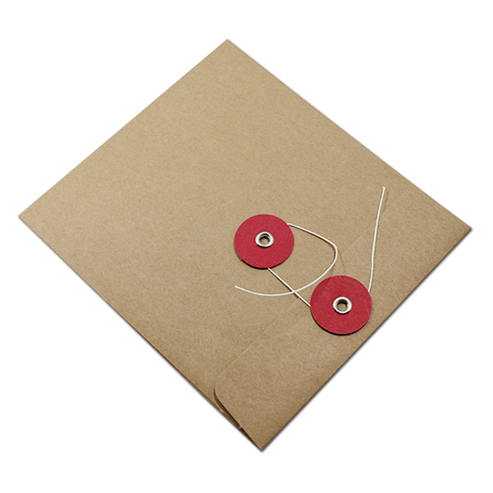 Wholesale 120Pcs/Lot 13*15cm High Quality Disc CD Sleeve 250gsm Event Kraft CD DVD Paper Bag Cover CD Packaging Envelopes Boxes