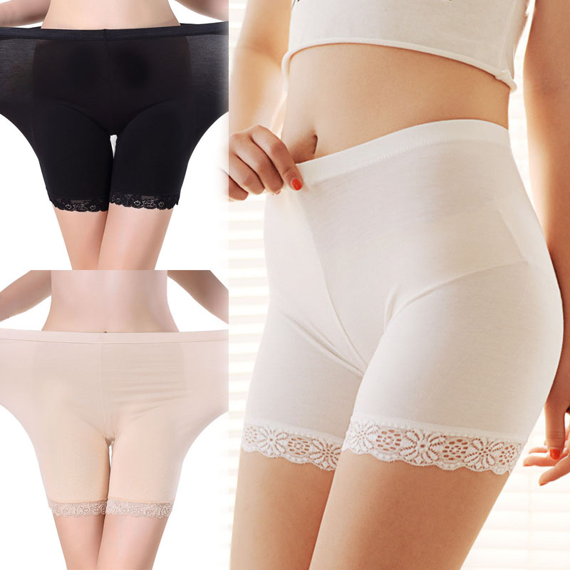New Sexy Women Hot Sale Fashion Lace Trousers underwear 3 Colors 2 Sizes Safety Short Pants