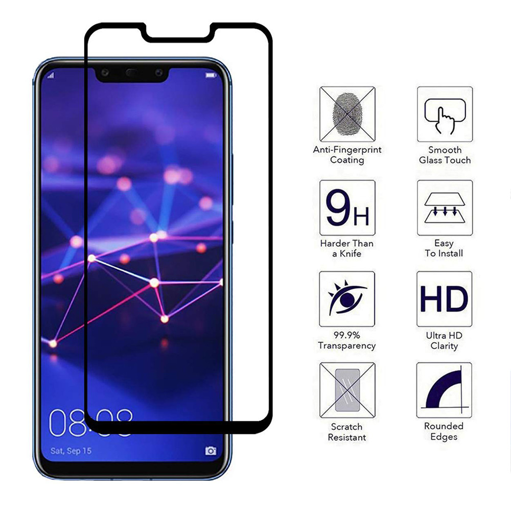 6.39inch For Huawei Mate 20 Pro Full Cover Premium 9H Tempered Glass Screen Film Protector O.19