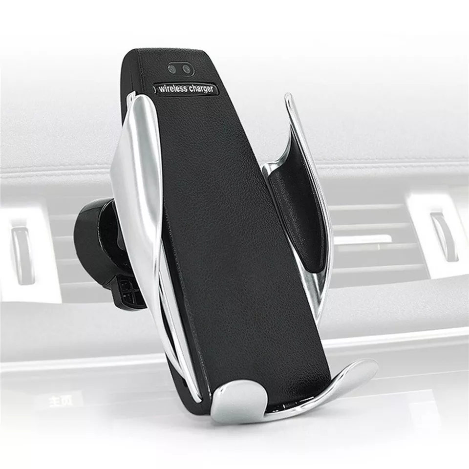 Newest 10W Qi Car Wireless Charger For iPhone XS X 8 Automatic Mobile Phone Holder Fast Wireless Charger In Car Air Vent Mount(China)