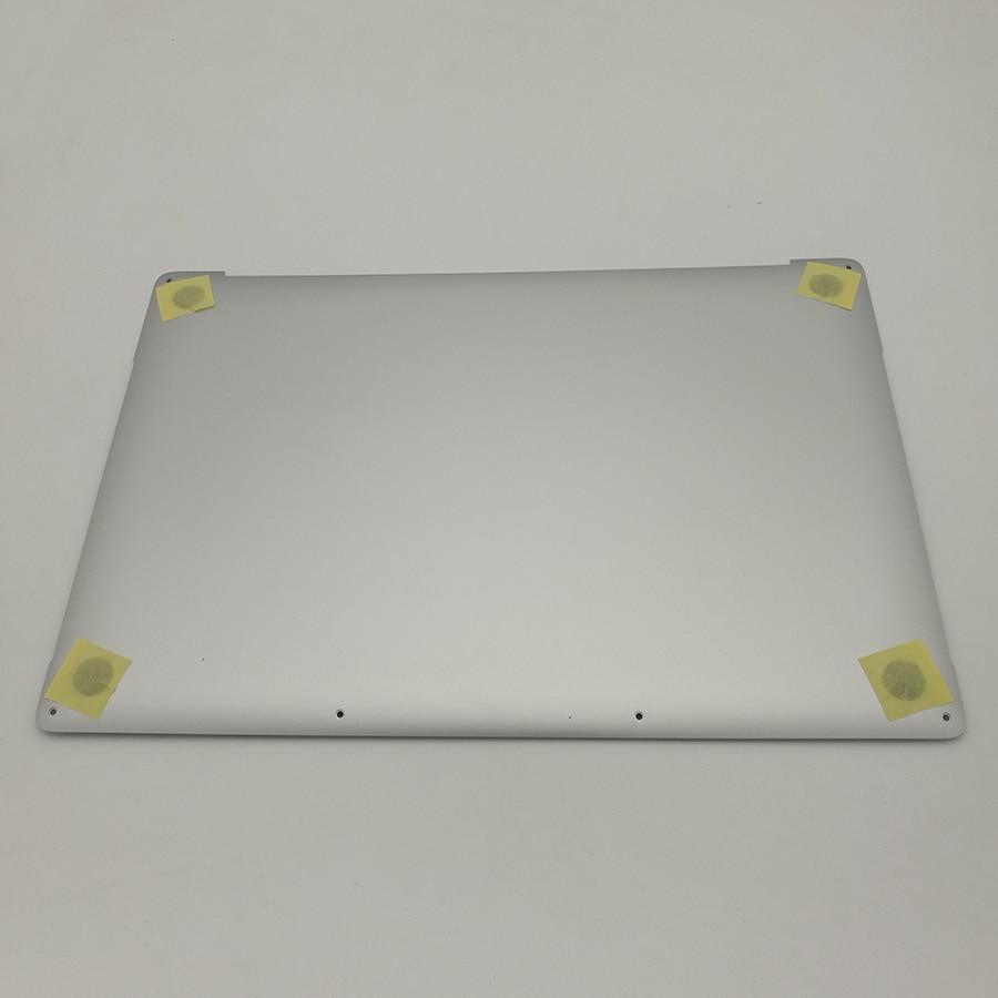 For Macbook Pro 15 A1707 Bottom Case Cover Silver Lower Cover MLH32LL/A MLH42LL/A MLH52LL/A Late 2016 98% 99% new a1342 white lower bottom case cover for apple macbook a1342 13 unibody bottom 604 1033 2009 2010 mc207 mc516 ll a