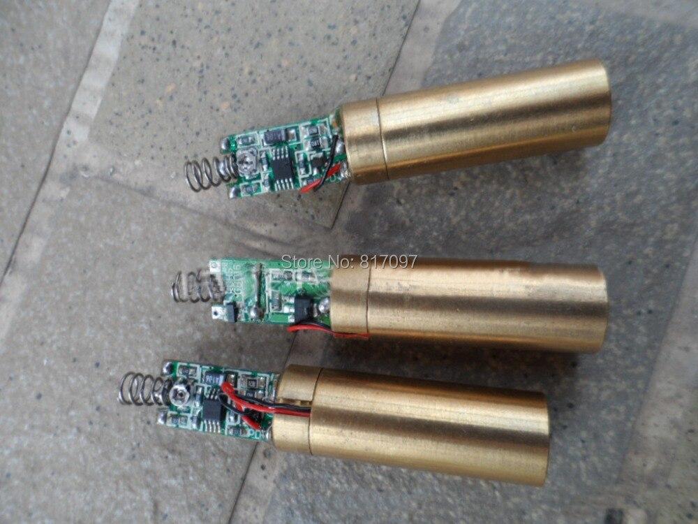 1 шт. DIY 100 МВт зеленый лазерный диод лаборатории зеленый лазерный модуль высокой Мощность зеленый лазер луч EL Райо лазерной diodo лазера