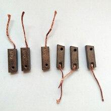 Электромобиль генератор транспортных средств мотор углеродная щетка для hyundai Mazda Nissan регулятор генератора(Размер: 5*8*23