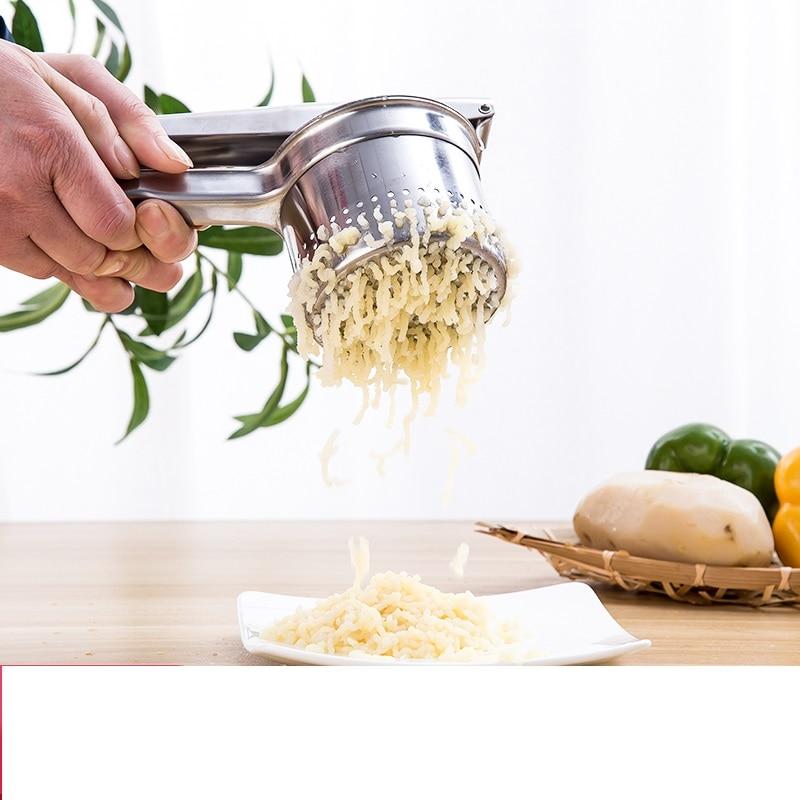 купить Pressed Potato Masher Pomegranate Fruit Pressed Juicer Stainless Steel Manual Watermelon Juice Extractor Machine по цене 1550.34 рублей