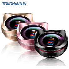 TOKOHANSUN Professional 15x Macro Camera Photo HD 0.6x Super Wide Angle Phone Lens For Samsung S8 iPhone 6S 7 Plus X Smartphone tokohansun hd camera lens kit 0 63x wide angle 15x macro lens mobile phone lens for iphone 6 6s 7 8 plus x samsung s9 s8 plus