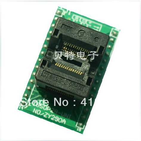 Ucos SmartPRO X5/X8 transfer TSSOP28 ZY290A programming adapter ucos dedicated programming block zy344a burning psop44 adapter adapter tests