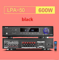 2018 LPA50 600W FIHI AV 5.1 channel home theater Bluetooth 4.0 digital audio amplifier with Fiber coaxial USB SD lossless player