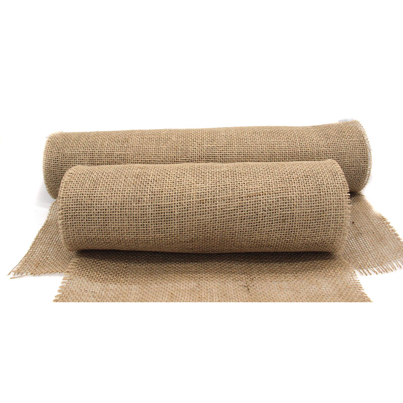 10Meter 35/50 width Natural Jute Hessian Burlap Roll Burlap Table Runners Wedding Party Chair Bands Vintage Home Decorations