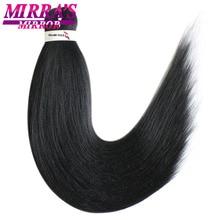 """Mirra's зеркальные цветные легкие огромные косички волосы Омбре плетение волос наращивание синтетические косички для наращивания волос 2"""" 26"""" два тона"""