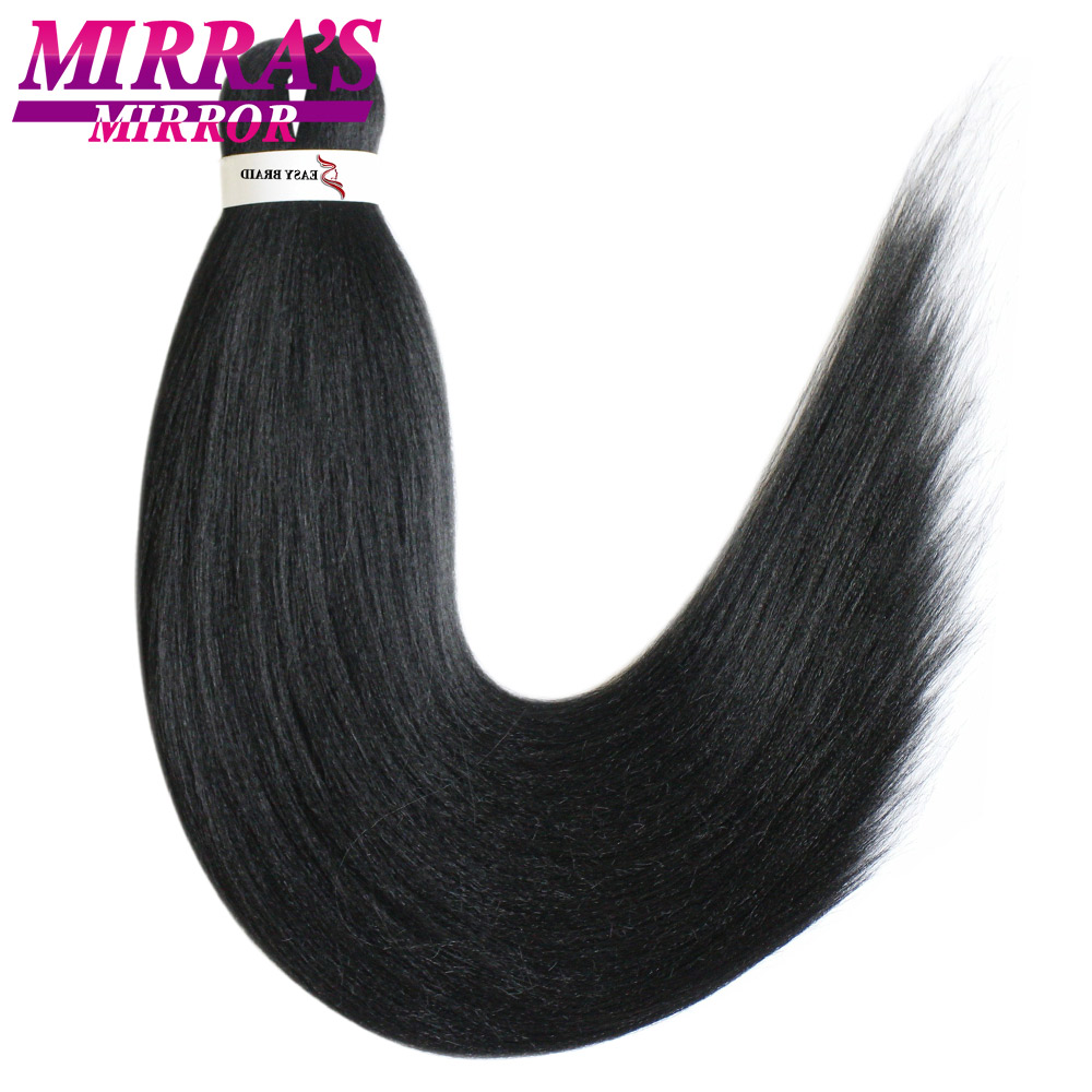 Mirra's Mirror Colored Easy Jumbo Braids Hair Ombre Braiding Hair Extensions Crochet  Braids Synthetic Hair 20