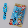 Yokai Watch Cartoon Electronic Watch Kids Transmitter Toys DX Yo-kai Watch Bracelet Japan Anime Yokai Children Boys Toy Gift