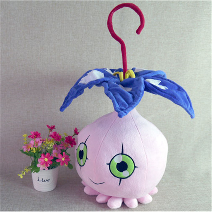digimon Digital Monsters toys anime Pyocomon plush toy 45cm short doll pillow Takenouchi Sora cosplay puppe free shipping