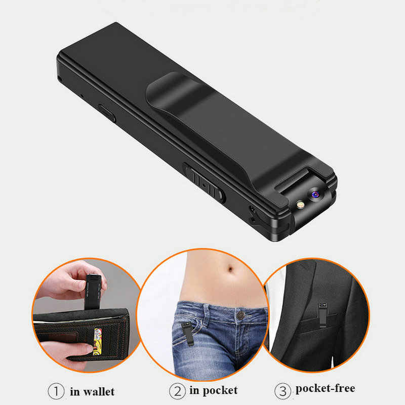 Magnetic Pen Mini Camera HD 1080P Camcorder Video Audio Recorder PC Support TF Card Flashlight Micro DV Small Digital Action Cam