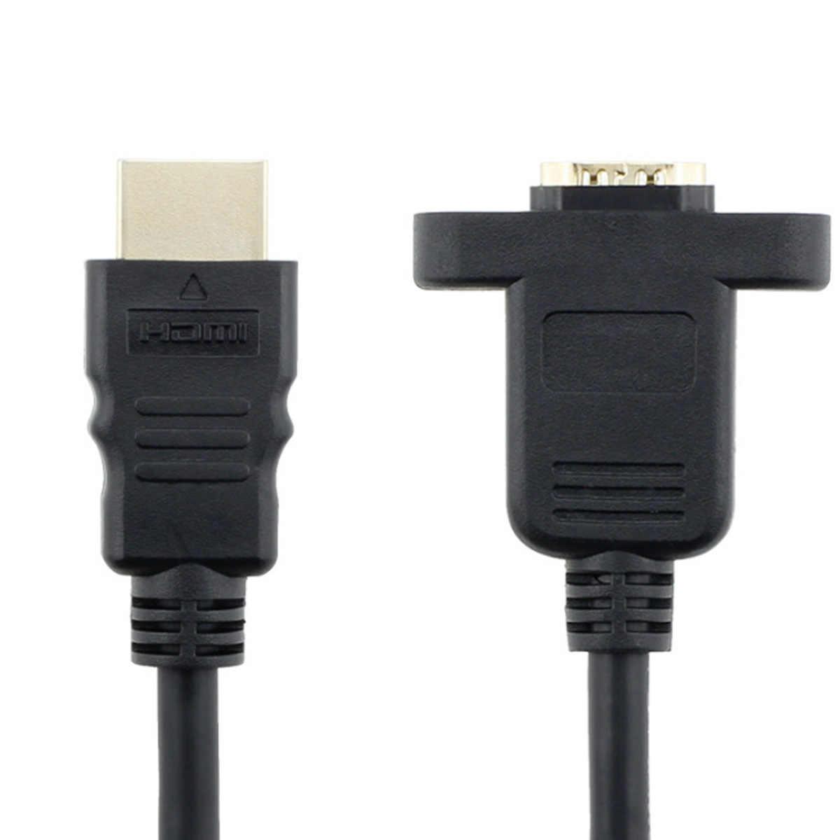 1.5m HDMI Nam Famale Chuyển Đổi Nối Dài Cáp Video Adapter 1080P Kỹ Thuật Số sang Analog Video Âm Thanh Cho MÁY TÍNH laptop Đa Phương Tiện