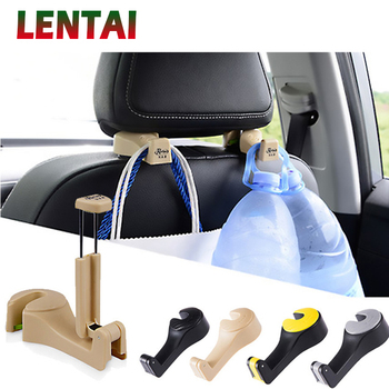 OVERE 1PC Car Back Seat Storage Hook & Mobile Phone For Renault Megane 3 Duster Captur Chevrolet Cruze Aveo Captiva Lacetti image